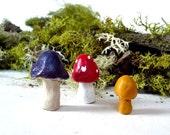 Terrarium Mushrooms Supplies Nature Forest Decoration No.11