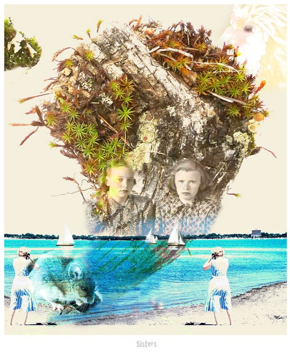 Photography Collage Fine Art Sisters