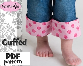 Cuffed  Ebook/Tutorial on how to create a cuff on Jeans Great Boutique Look  Embellish