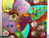 Floral Abstract I - Original Acrylic Painting