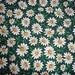 Vintage 1980's Field of Daisies Cotton Fabric - Joan Kessler  - 2 Yards