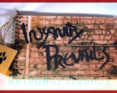 Original Graffiti Photo Journal (Notebook, sketch book, note pad)