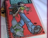 Monster Club Comic Book Blank Journal (Notebook, sketch book, note pad)