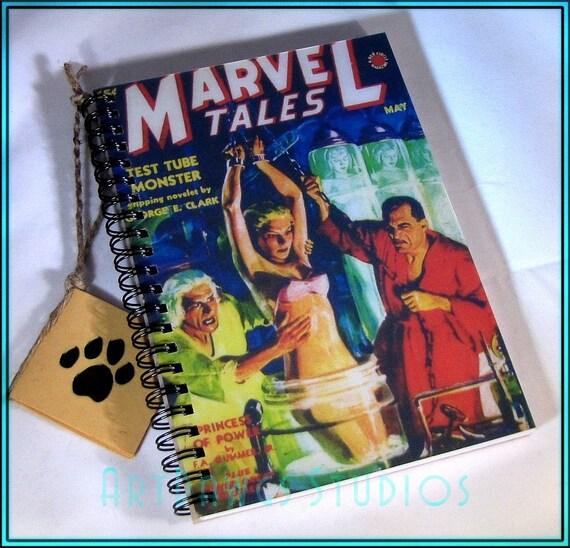 Marvel Tales Vintage Comic Book Blank Journal (Notebook, sketch book, note pad)