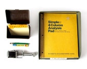 Vintage COLLECTION of OFFICE SUPPLIES