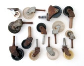 Rusty WHEELS Assorted Hardware - Instant Collection, Set of 13