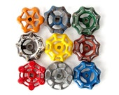Instant COLLECTION of GARDEN Water Faucet Valve Knobs - Set of 9