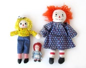 Raggedy Ann (and Andy) Starter Collection - Set of 3 Soft Dolls