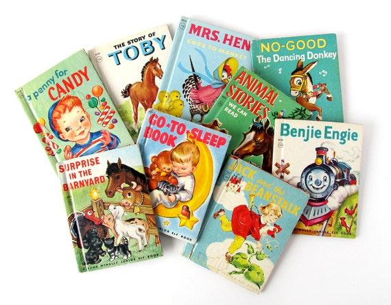 Junior Elf Books - INSTANT COLLECTION - Set of 9 Children's Books