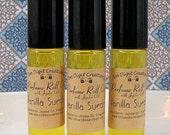 VANILLA SUEDE Perfume Oil with Jojoba (vanilla, sandalwood, cedar, oakmoss)