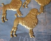 2 PC Large Fancy French / Standard Poodle Stamping - QQ20