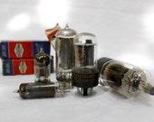 Vintage Glass Radio Vacuum Tubes 3