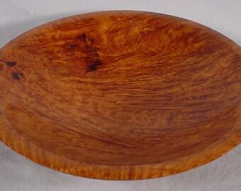 Exotic Amboyna Burl bowl turned wood bowl number 4101