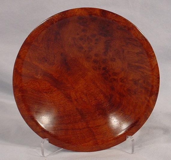 Exotic Amboyna Burl bowl turned wood bowl number 3304