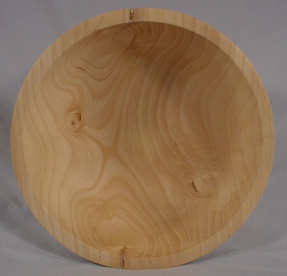 Texas Ash Wood Bowl Turned Wooden Bowl number 4618