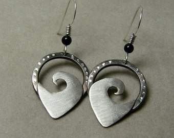 Silver Tempest - Sterling Silver Earrings - (267-1)