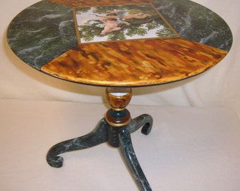 Table with Cupids