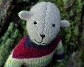 Pogo - Walter, eco friendly wool bear, upcycled.