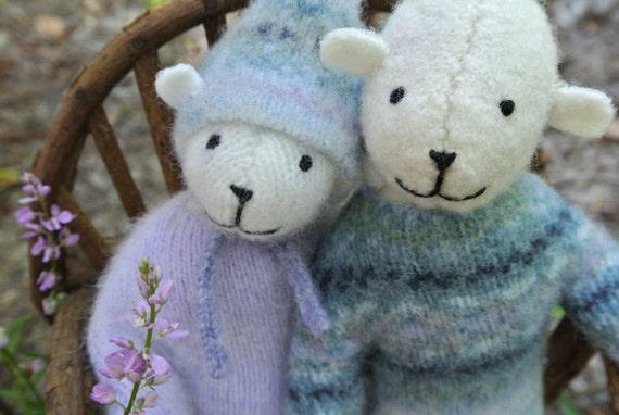 Pogos - Mark and Ellie, eco friendly small bears