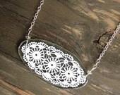 Rennes Lace Necklace
