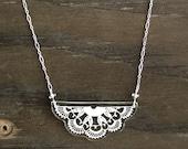 Bayeux Lace Necklace