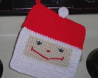 Santa Claus Pot holder hot pad for Christmas