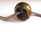 Forest Primeval Focal Lampwork Bead - Apalachicola