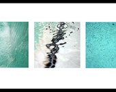 Water - Trio of 8x8 Fine Art Photographs