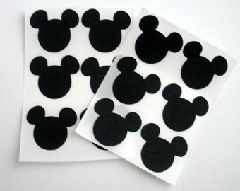 Mickey Mouse Sticker Seals