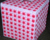 Valentines Day decorative boutique tissue box cover