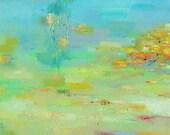 Abstract Art Print, Abstract Painting, Sea Beach Print, Fine Art Print , Giclee Print , Wall Art print, Wall Décor, 10x10 12x12 16x16
