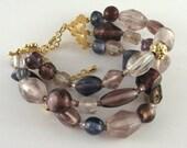 ON SALE - Bracelet in Purples