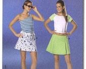 Burda 7818 Young Fashion Skirt Pattern  Sizes 6-18 Uncut  Complete