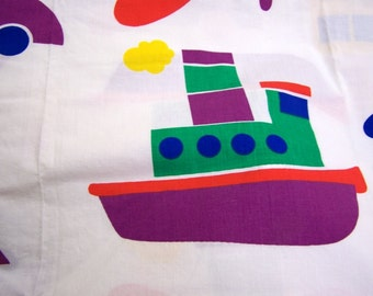 Fabric Yardage Children Planes, Boats, and Automobiles