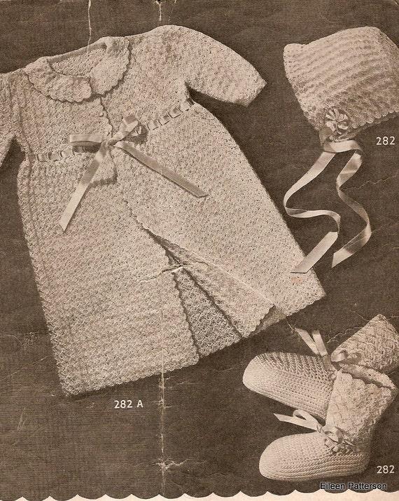 PDF Crochet Pattern Children's Vintage Outfits 1950s