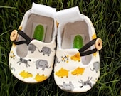 safari loafers - yellow