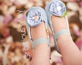 Glass Slippers Mary jane  - baby and toddler girls princess shoes