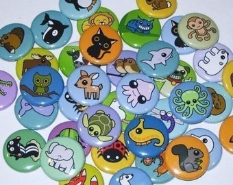 PICK ANY 3 DESIGNS - 1 Inch Buttons
