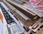 Scrapbook Alphabets - Pennies on the Dollar