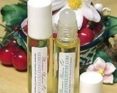 Vanilla Almond Handmade Perfume Oil Fragrance Perfume Scent Roll on - Vegan - Cologne - Creamy Vanilla Nutty Scent Perfume