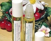 Sandalwood Amber Perfume Oil Fragrance Roll on Scent Perfume - Vegan - Earthy Sophisticated Cologne - Paraben-free Perfume - Sandalwood