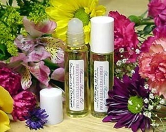 Heather and Rose Perfume Oil Fragrance Scent Roll on Perfume - Vegan - Floral Flowery Cologne - Paraben-free - Heather Rose Perfume Scented