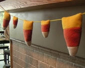 Candy Corn Plushies Garland