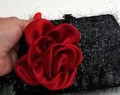 Funky Small Black Purse , Black Clutch Purse , Black Purse , Evening Clutch , Prom Purse , Evening Bag , Mini Handbag Clutch , Gift for Her