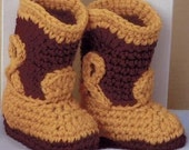 Crochet Pattern Book Baby Booties Boutique - Mary Janes, Cowboy Boots, Moccasins, 'n more