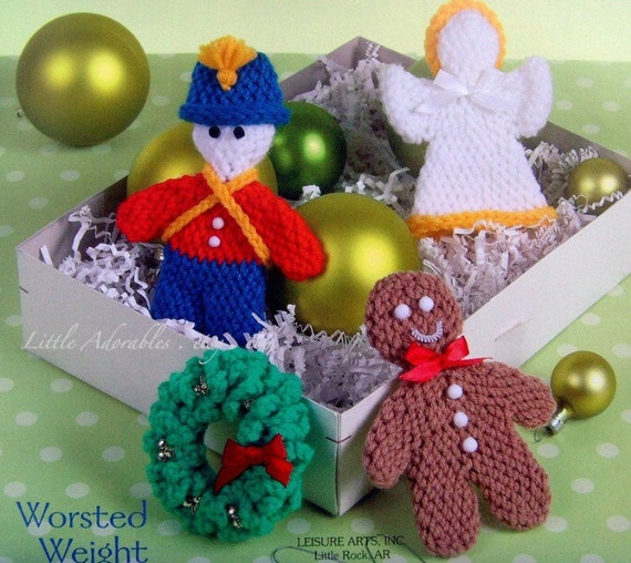 Crochet Holiday Christmas Ornaments New Pattern Book