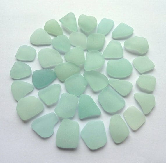 Seafoam Sea Glass, Seaglass, Beach Glass for Jewelry or Craft