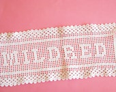 Made by Mildred...Charming Old Crochet