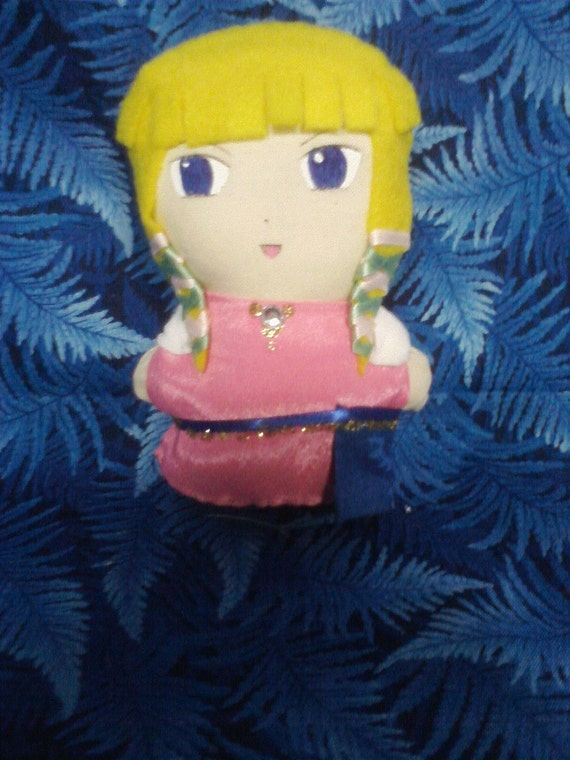 Princess Zelda Mini Plushie - Skyward Sword