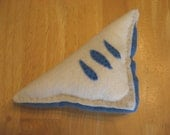 Yummy Blueberry Turnover  Felt play food  For toddler imaginary play (SALE)